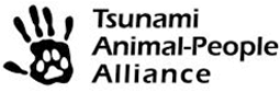 Tsunami Animal-People Alliance logo.